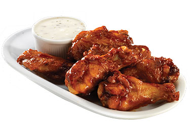 Blackjack pizza wings price